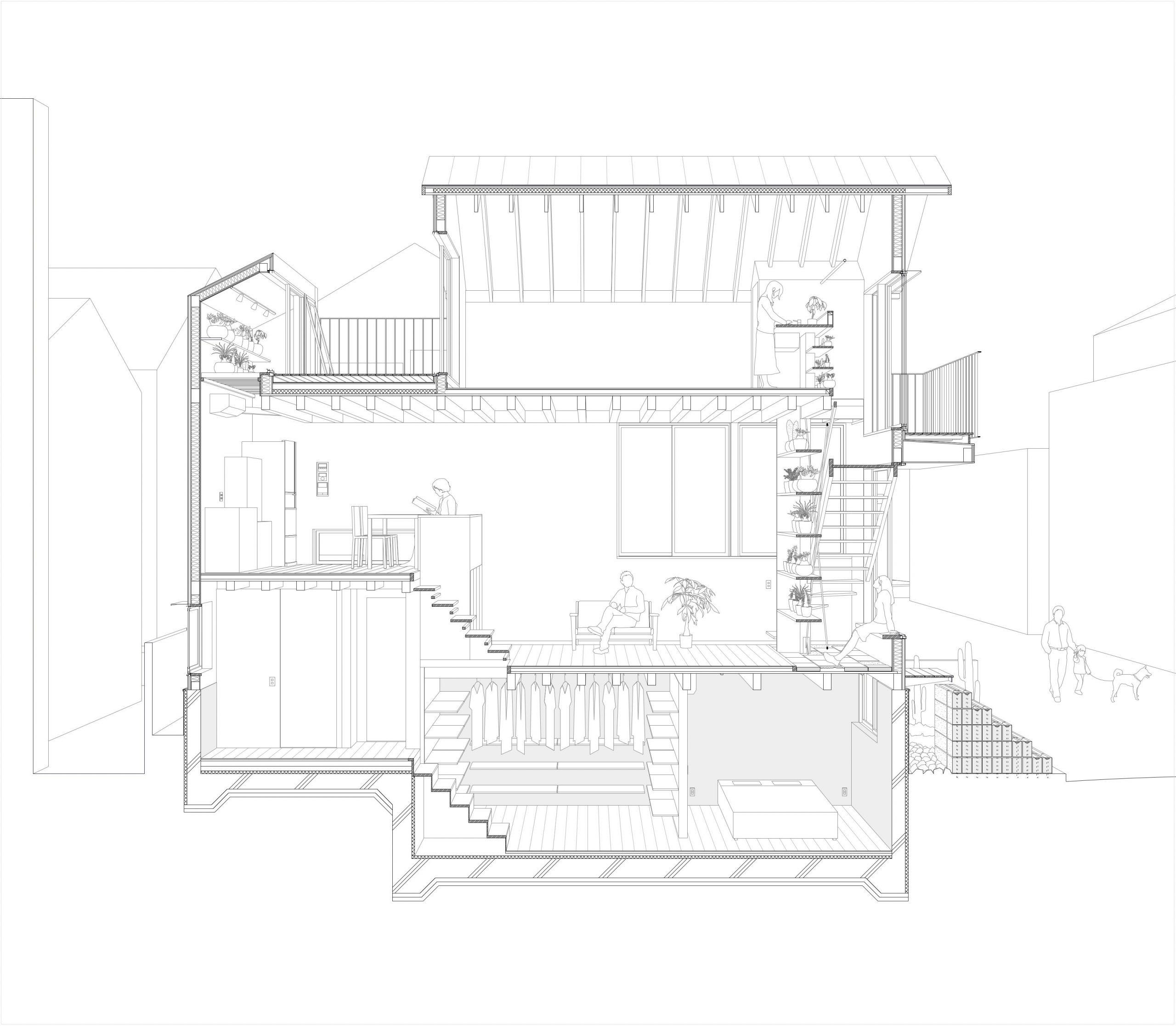 「Sabo House」(2020)